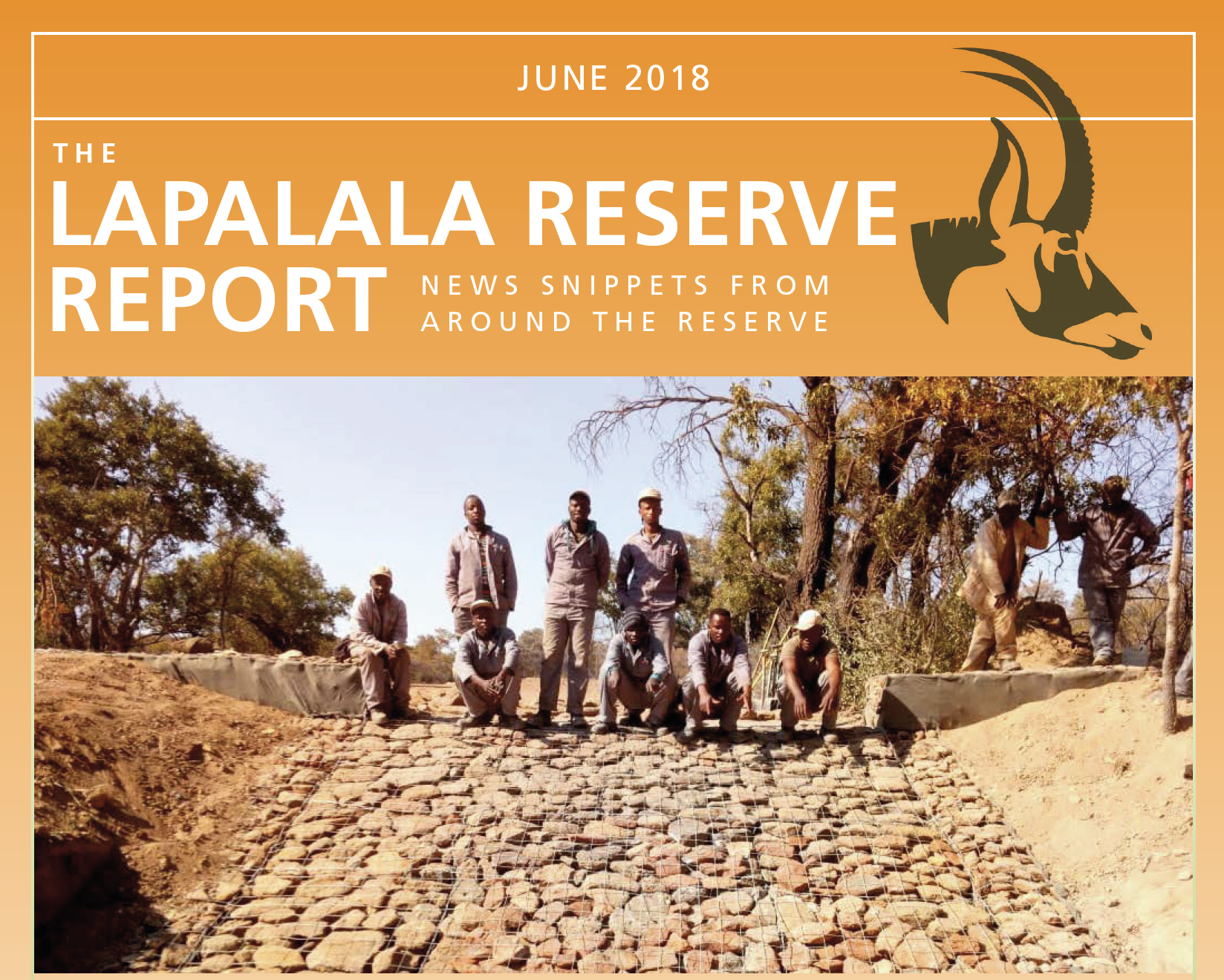 Lapalala Reserve Report – June 2018